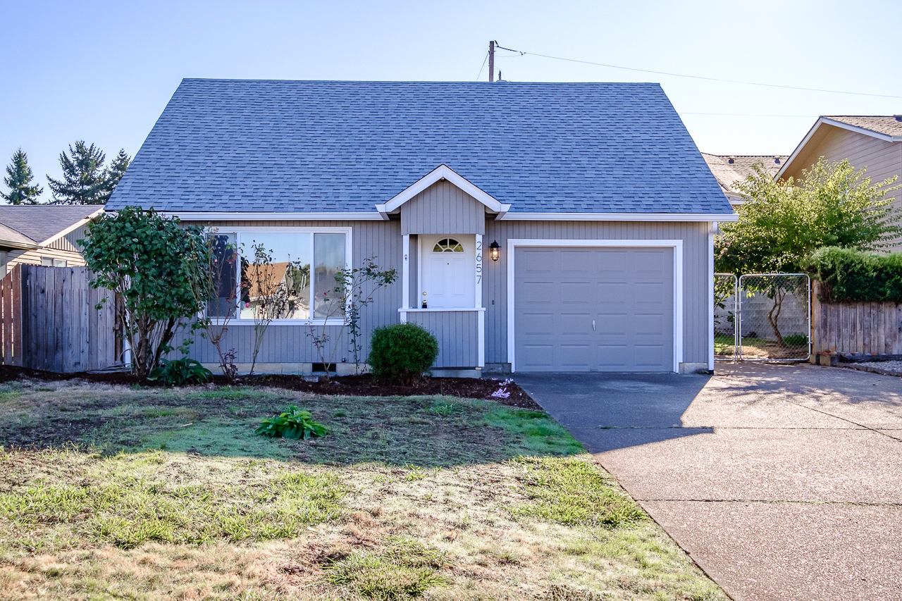 SOLD: 2675 Chicago Street, Corvallis. $244,925